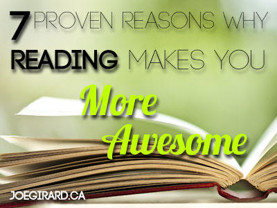 Reading, Awesome, Joe Girard, Success, Habits