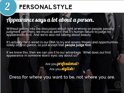 Personal Branding Ebook, Joe Girard, Personal Appearance