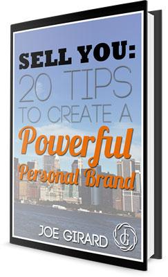 Free Personal branding ebook, Joe Girard