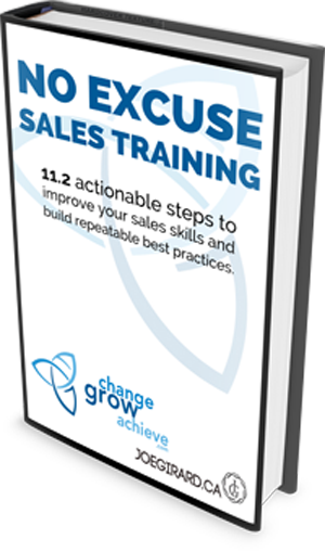 Sales process, Joe Girard, Training, Sales Training