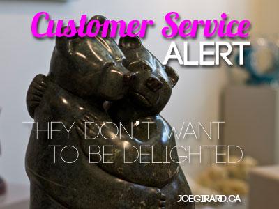Customer Service, Joe Girard