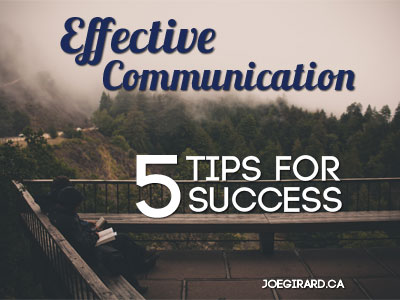 effective communication, Joe Girard, Sales, Tips