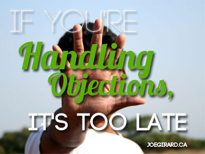 handling objections, Joe Girard, Sales