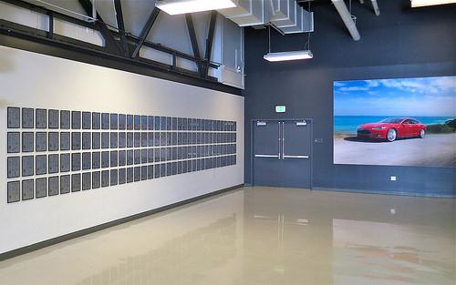 Tesla Patent Wall