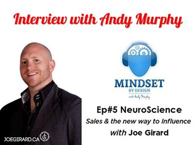 Mindset by Design, Andy Murphy, Joe Girard