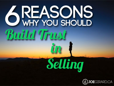 Trust, selling, Joe Girard