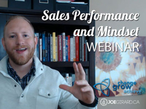 Sales Training, Free, Webinars, Joe Girard