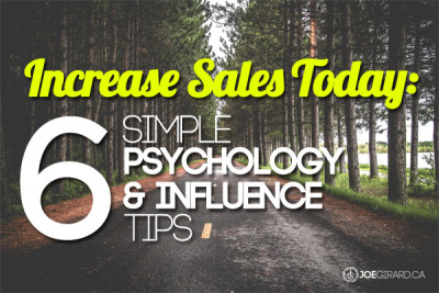 Increase Sales, Sales Books, Sales Training, Tips, Joe Girard