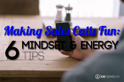Making Sales Calls Fun, Joe Girard, Sales Training