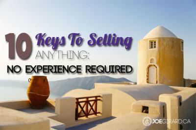 10 Keys to Selling, Joe Girard
