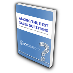 Ebook-Cover, Joe Girard, Sales Questions