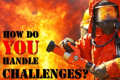 Firefighter challenges