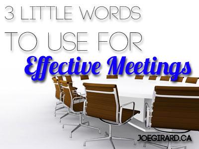 boardroom table, effective meeting, Joe Girard, table and chairs
