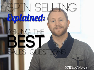 [VIDEO] SPIN Selling Explained: Asking Awesome Sales Questions