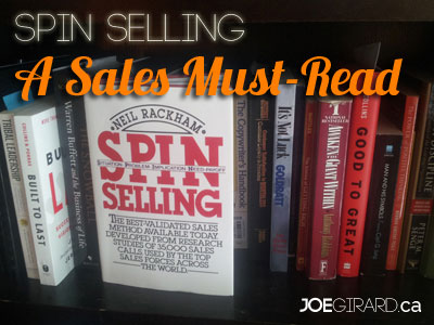 SPIN Selling, Joe Girard, Questions