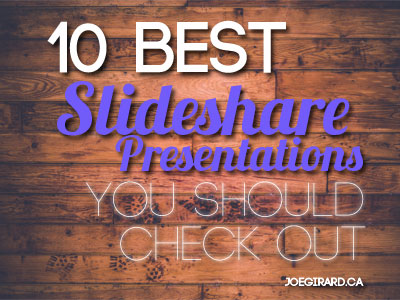 best slideshare presentations, Joe Girard
