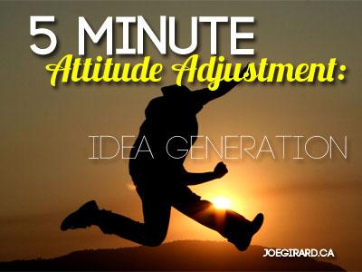 Attitude Adjustment, Joe Girard