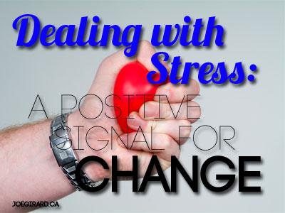 Dealing with Stress, Joe Girard