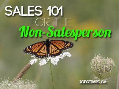 Sales 101, Non-Salesperson, Joe Girard