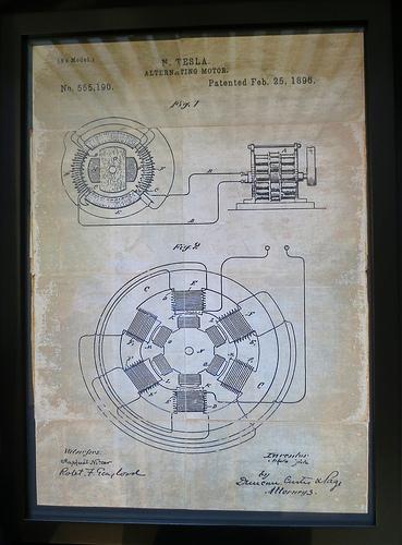 N. Tesla Patent Image