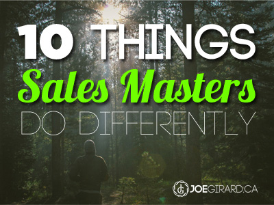 Sales Mastery, Sales Training, Joe Girard