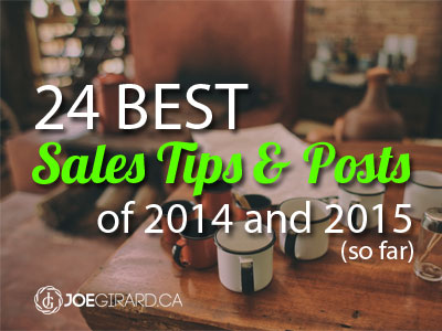 BEst sales tips, Joe Girard, 2014, 2015