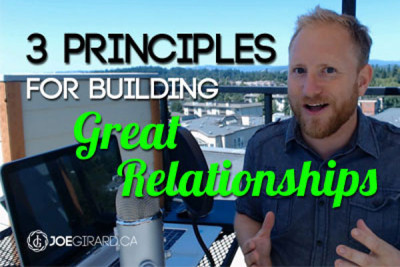 Relationships, Sales, Joe Girard