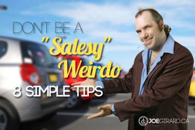 Sales Tips, Salesy, Joe Girard